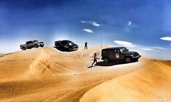 勇猛者-库布齐沙漠游记