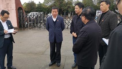 省政协副主席市委书记视察钧天汽车