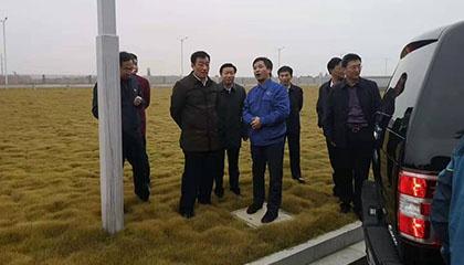省委书记刘奇参观勇猛者